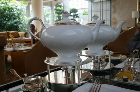 The nice teapots :)