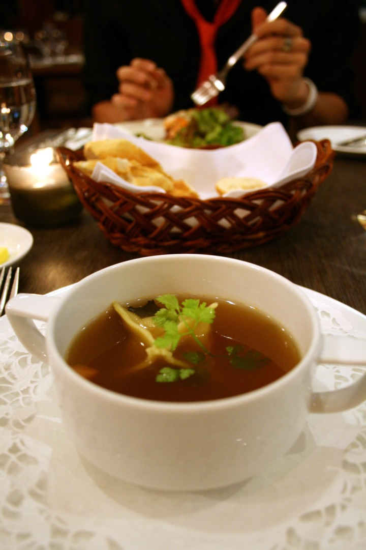 The consomme
