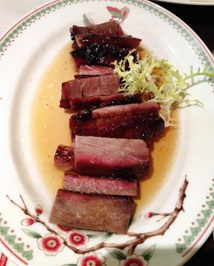 The lovely, juicy Kurobuta Pork Char Siew
