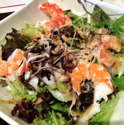 The exciting Prawn Salad