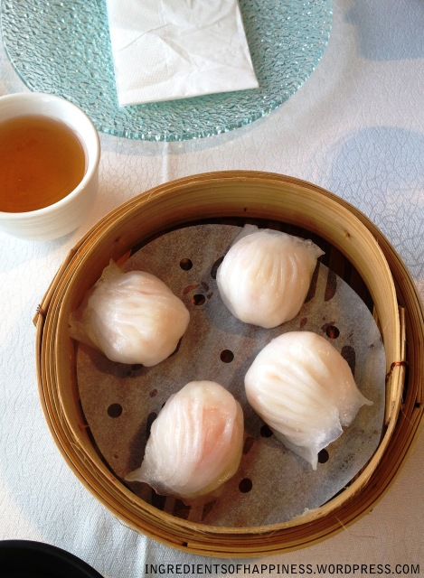 The Majestic Bay Steamed Prawn Dumpling