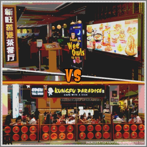 Xin Wang HK Cafe VS Kungfu Paradise