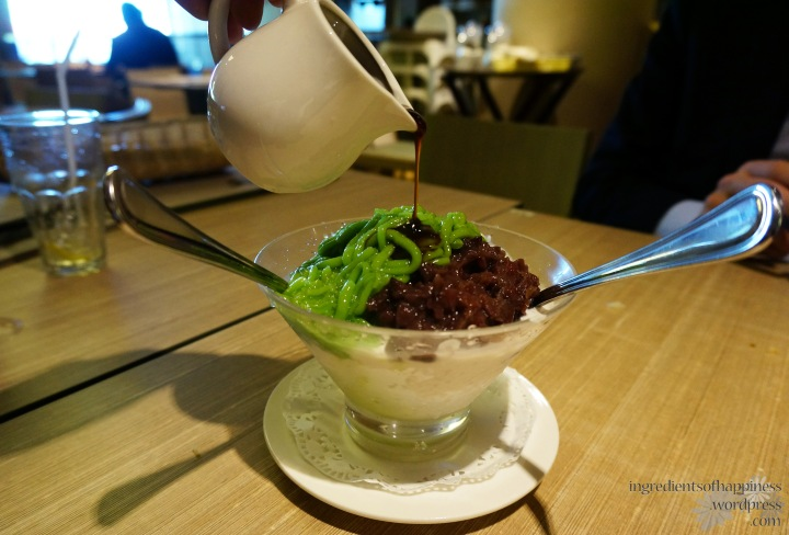 The classic Chendol with yummy gula melaka