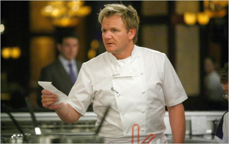 Famous Michelin-starred chef Gordon Ramsay (picture taken from: http://www.flickr.com/photos/54397539@N06/5034334027/)