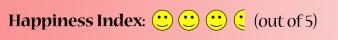 Happiness Index 3 Half