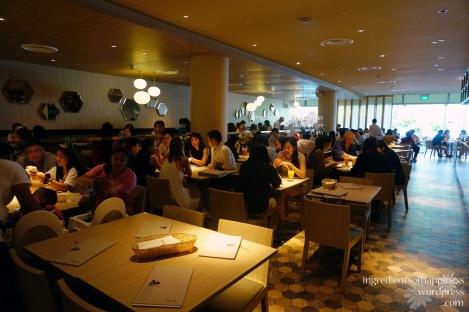 The new Madam Kwan's at Vivocity