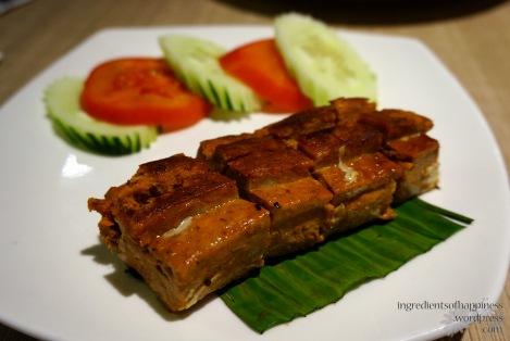 Spicy fish paste Otak Otak