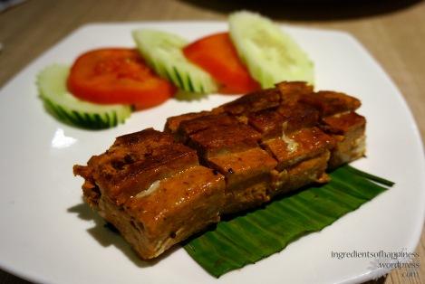 Spicy fish paste Otak Otak