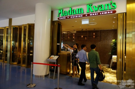 Madam Kwan's at Level 1 of Vivocity