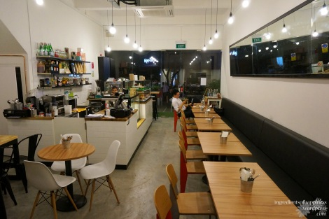 The nice fresh interior of Craft Bakery and Café