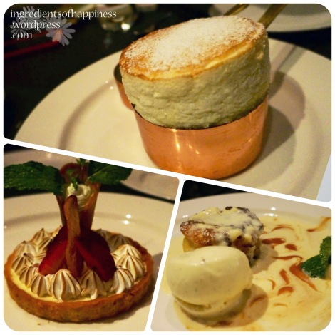 Some of the desserts available at Wooloomooloo
