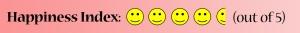 Happiness Index 4 Half
