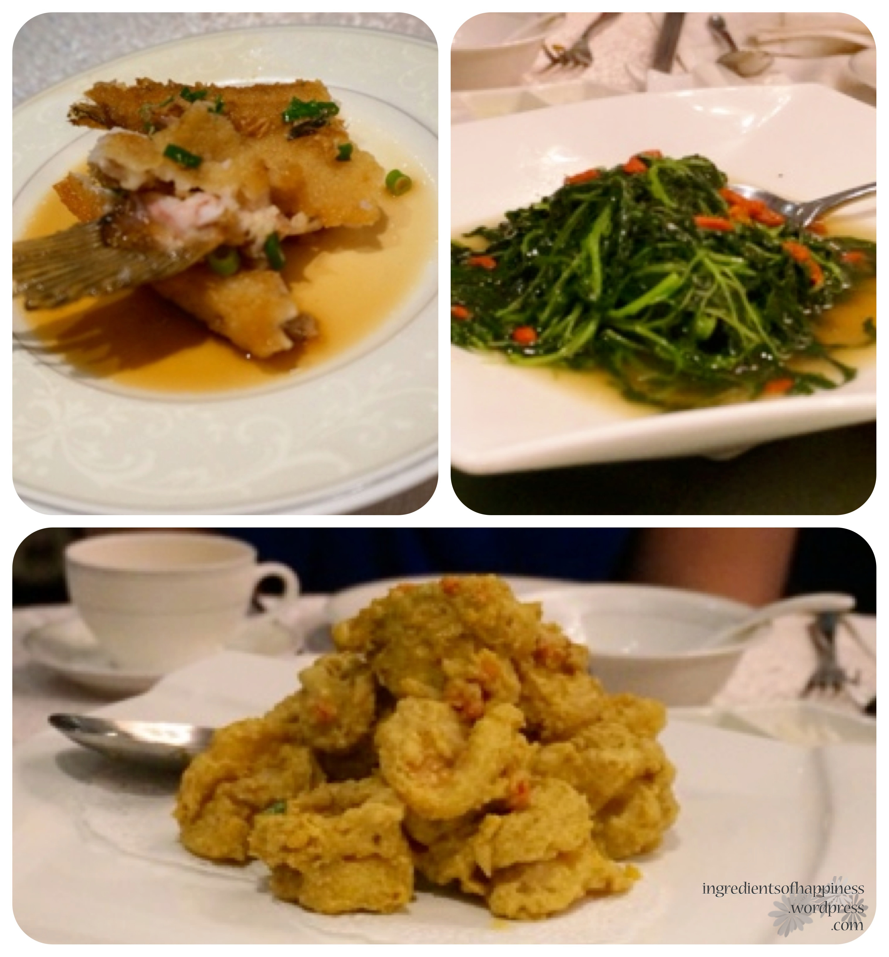 Paradise pavilion marina bay financial centre link mall for Fish dishes for dinner