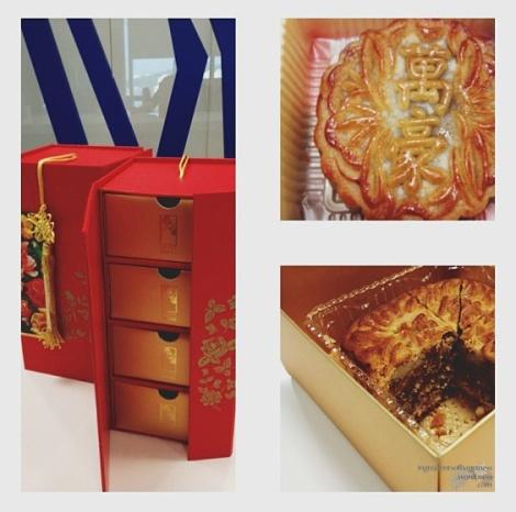 Golden Peony and Wan Hao mooncakes