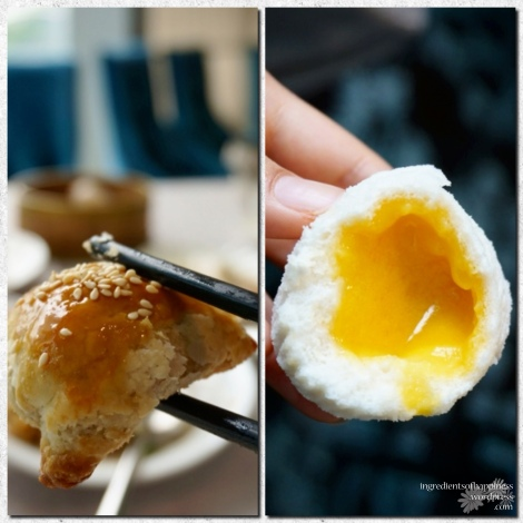 Two of Paradise Pavillion's star dim sum dishes