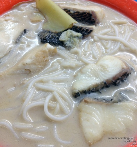 One of my faves, XO fish beehoon soup