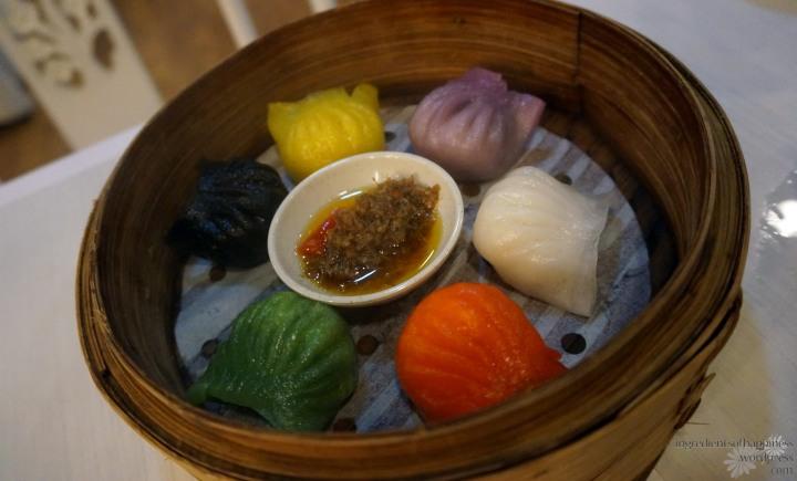 Rainbow dumplings!