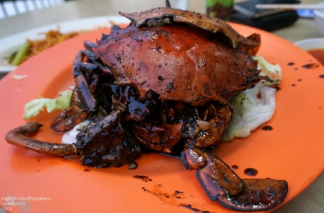 Eng Seng's famous black pepper crab