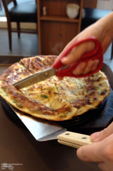 Haemul - Korean seafood pancake