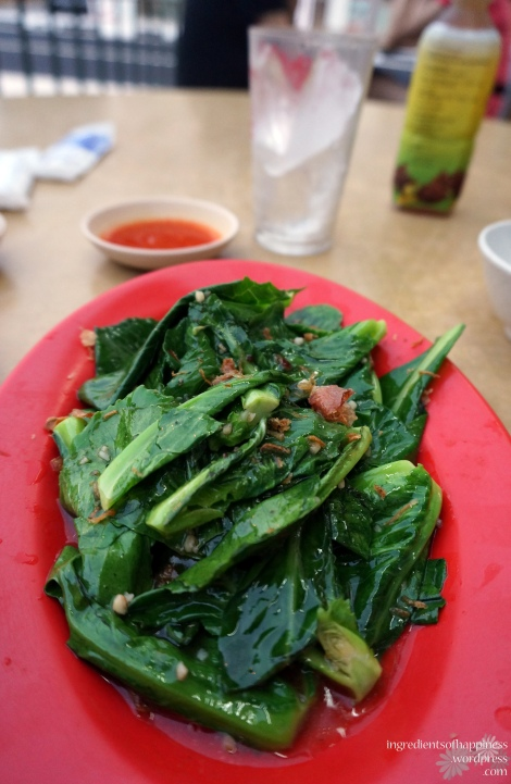 The absolutely delightful stir-fried kailan