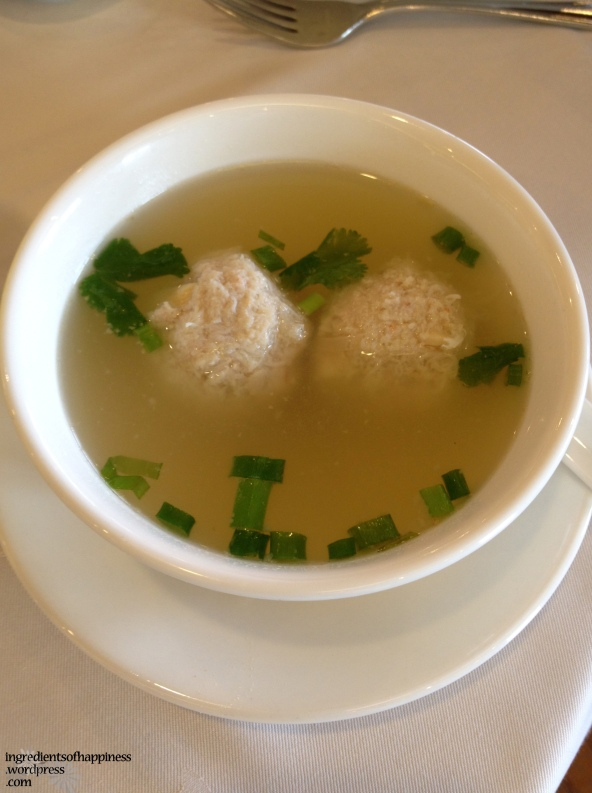 My favourite Bakwan Kepeting soup