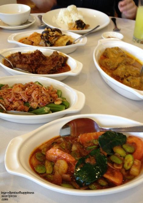 Yummy food at Peramakan