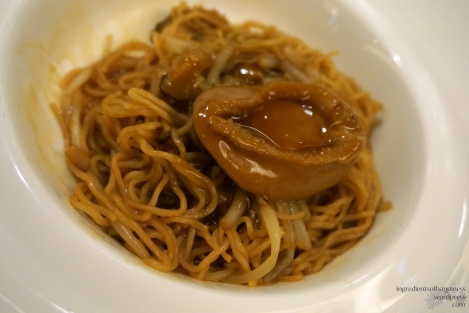 Stewed Noodles with Abalone