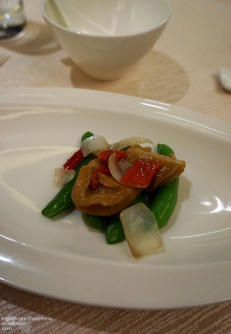 Stir-fried Diced Abalone