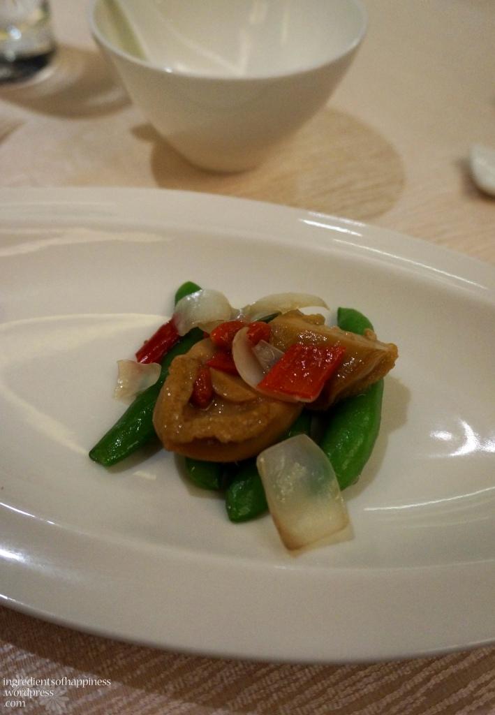 Stir-fried Diced Abalone