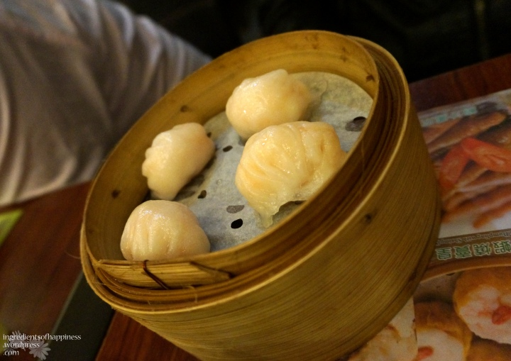 The har gao was alright but not spectacular