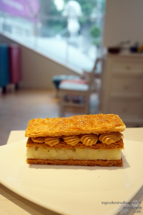 Patisserie La Douceur's much raved about Caramel and Apple Mille Feuille