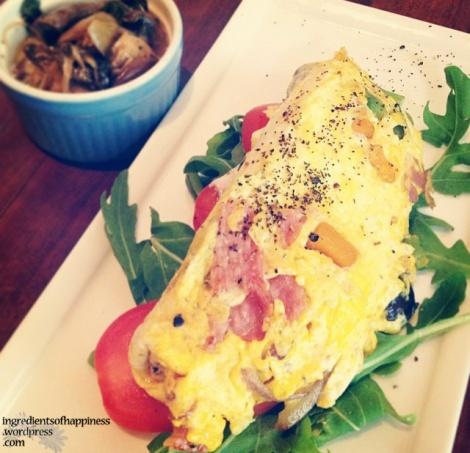 The fluffy Ooh La La omelette