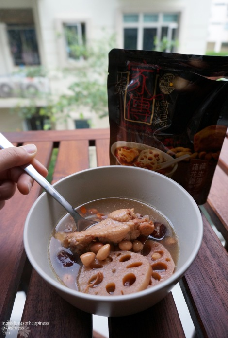Freshen Foods' Lotus Root Soup with Peanuts