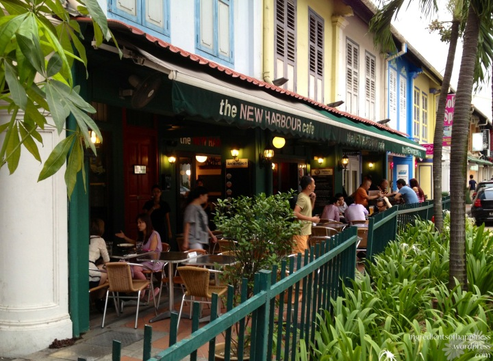 It is located along the happening Tanjong Pagar Road below quaint shophouses