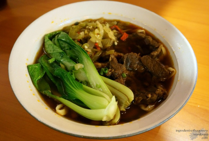 Yummy Taiwan beef noodle soup