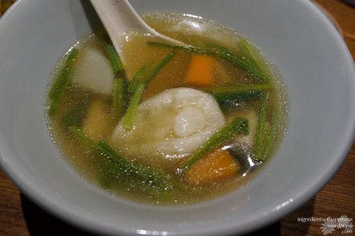 A warm, tasty soup