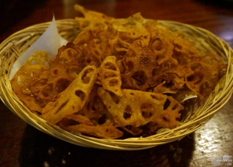 Super yummy lotus root chips! I like
