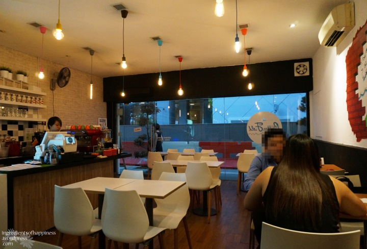 A cosy little cafe/bistro in the heart of Waterloo