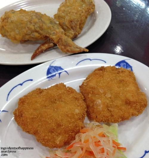 Fish Cakes Etc