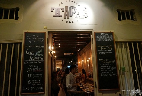 My Little Tapas Bar is a charming chill out bar along Ann Siang Hill