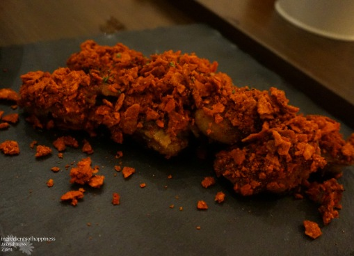 The sounded-interesting-but-turned-out-rather-weird doritos crusted chicken wings