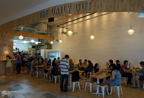 The Daily Cut @ Fusionopolis (Galaxis)