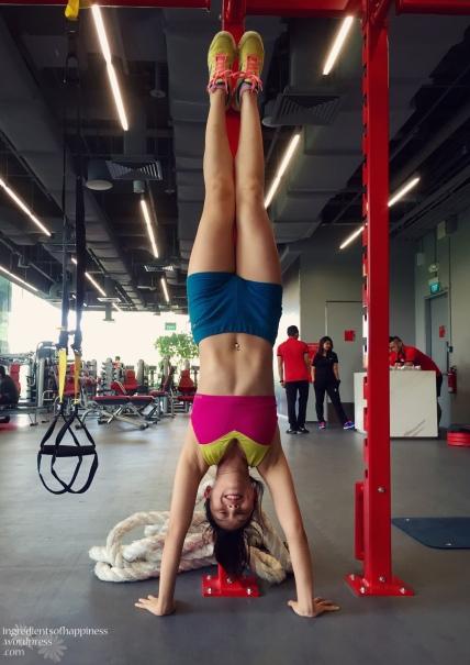 Random handstand-ing in the gym in June 2015