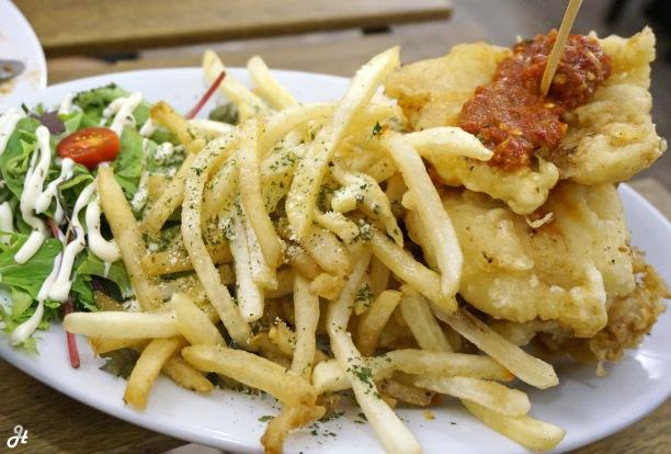 Asam Fish and Chips