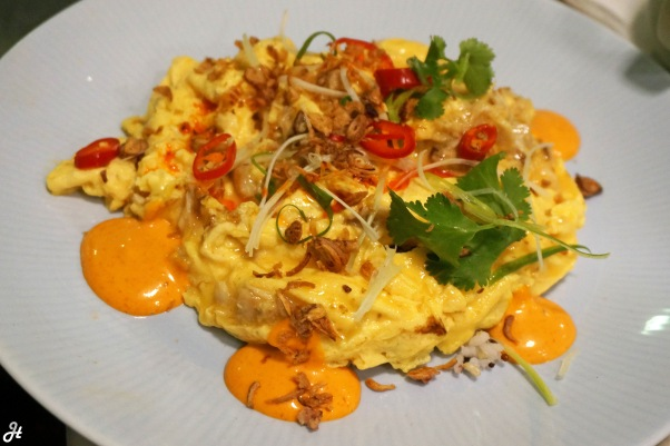 Crab Meat Scramble