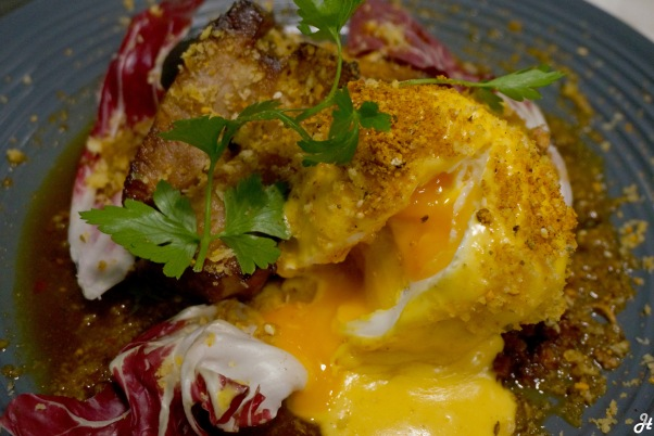 Poached Egg with Pork Belly 1