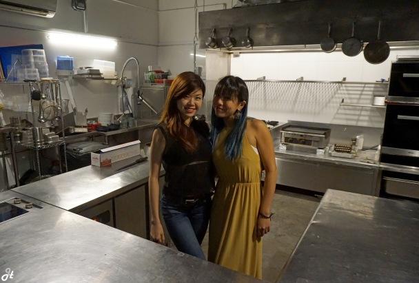 Dalena and Michelle
